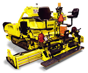 New BOMAG Paver Offers Power and Capacity for Larger Commercial Paving Projects