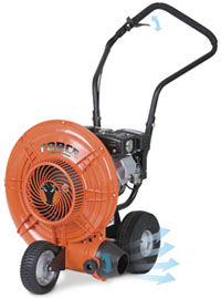 Billy Goat Releases New Force™ Wheeled Blower