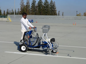 Graco Introduces First Stand-on Self-Propelled Pavement Striping System