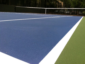 Resurfacing A Tennis Court With The Surface Masters Paveman Pro