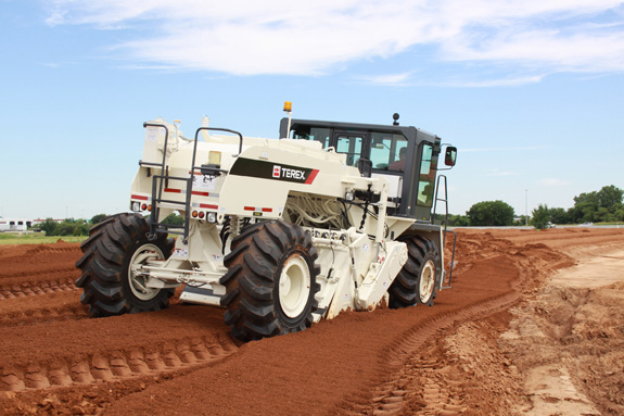 New Terex Reclaimer/Stabilizer Increases Depth and Reduces Turn Radius