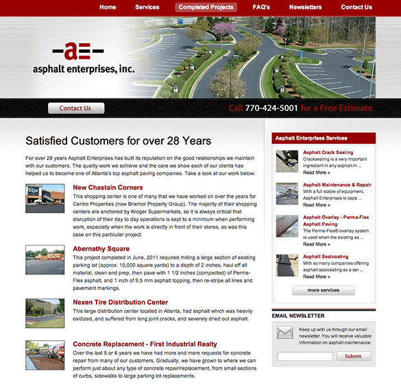 Asphalt Enterprises Show and Tell