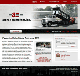 Why a Pavement Contractor Needs a Website