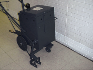 New Direct Fire Asphalt Melter/ Applicator from Cleform Tool Corp.