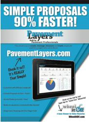 Pavement Layers Online Software Proposal Creation Tool