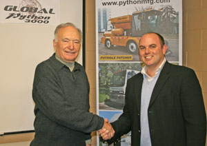 Global Sweeping Solutions Represents Python Manufacturing in North American Partnership