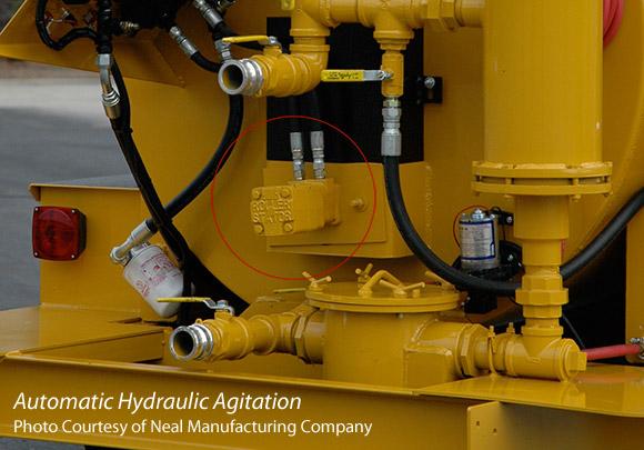 Automatic Hydraulic Agitation