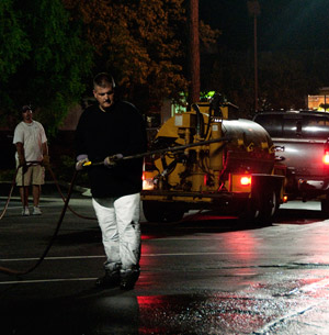 Night Work: The Art of After Hours Pavement Maintenance