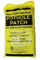 High Performance Pothole Patch from Maintenance, Inc.
