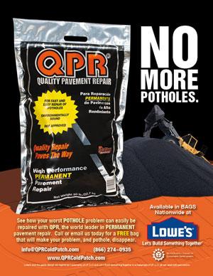 Qpr quality pavement repair how to review asphalt driveway pothole.