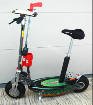 Distance Measuring Scooter