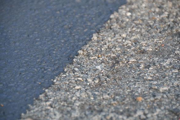 Dried Sealer Edge