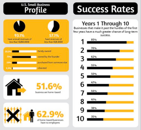 Small Business Success Infographic