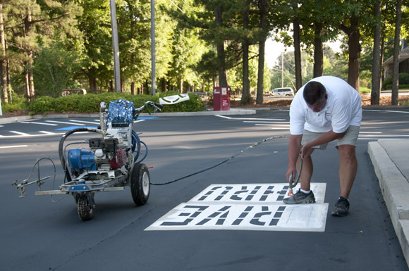 Parking Lot Stencils - A Buyers Guide
