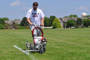 Titan Teams up to Help City of Plymouth Parks & Recreation Department